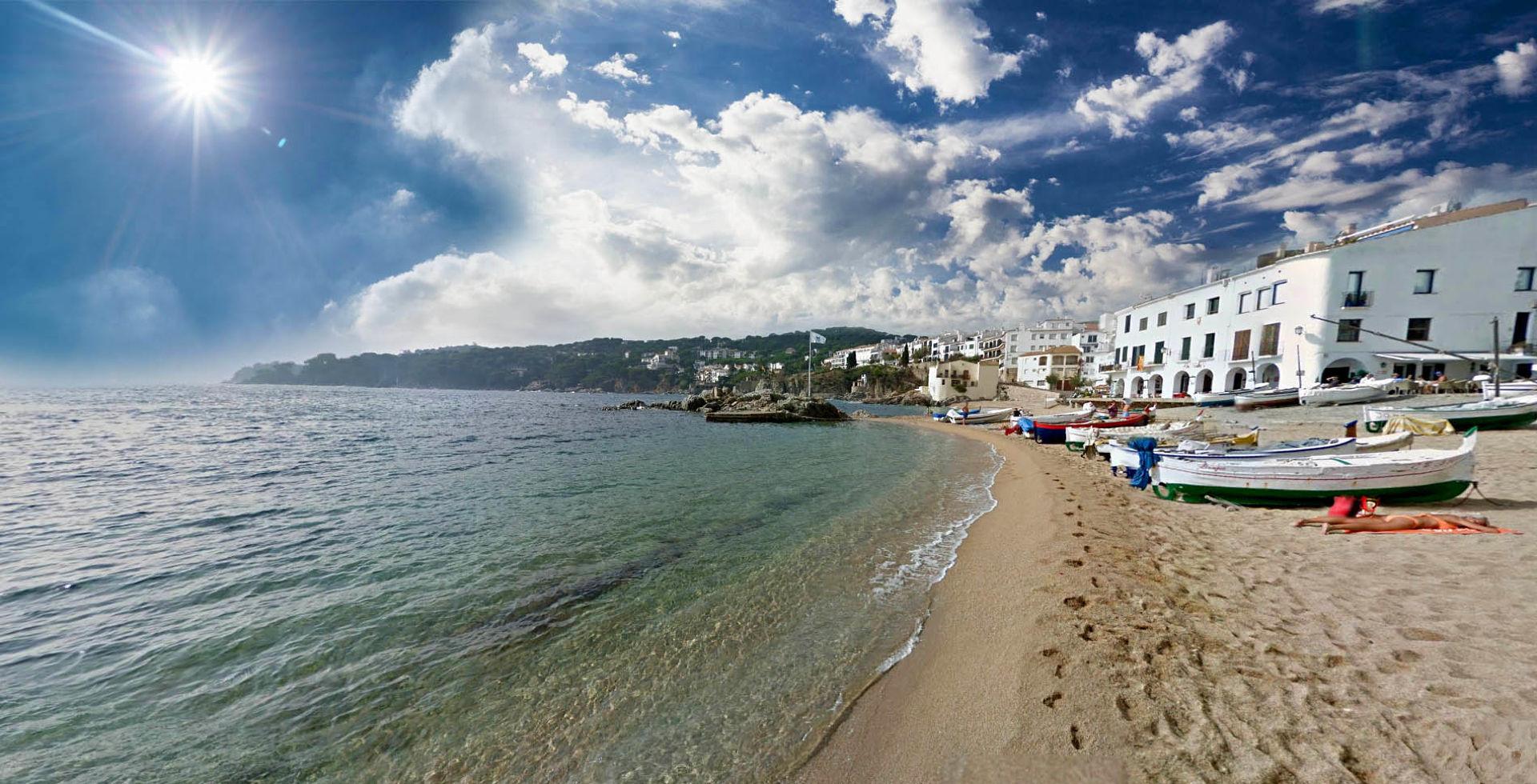 Beaches in Calella